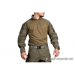 Emerson Gear Blue Label Combat Tactical BDU Shirt [Large] - RANGER GREEN