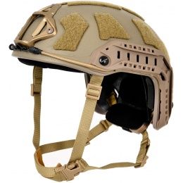G-Force Special Forces High Cut Bump Helmet - TAN
