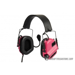 Earmor M32 MOD3 Electronic Communication Hearing Protector - PINK