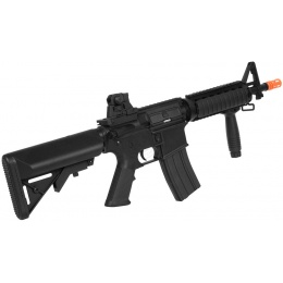 390 FPS A&K Airsoft M4 CQB RIS AEG Rifle - Full Metal Gearbox