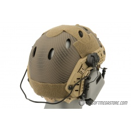 Earmor M32H MOD3 Tactical Communication Hearing Protector for FAST Helmet - GRAY