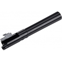 COWCOW Bull Style Threaded Outer Barrel for TM Hi-Capa 5.1 Pistols - BLACK