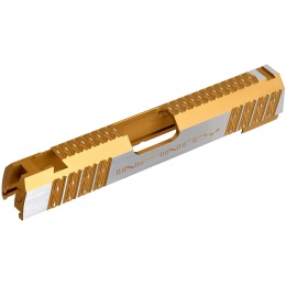 Airsoft Masterpiece Infinity Diamond Standard Slide for TM Hi-Capa 4.3 GBB Pistols - GOLD