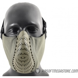 G-Force Ventilated Discreet Half Face Mask - OLIVE DRAB