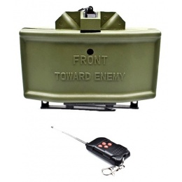 AMA Remote-Controlled Airsoft BB Claymore Mine w/ Stand