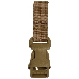 Lancer Tactical 3 Piece MOLLE Buckle System Set - TAN