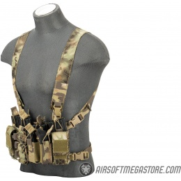UK Arms Airsoft QR Combat Chest Rig - MAD