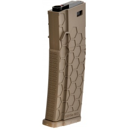 AMA 120 Round Mid Capacity Textured M4 AEG Magazine - DARK EARTH