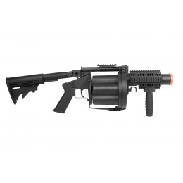 ICS Airsoft GLM Full Size 6-Round Revolving Grenade Launcher