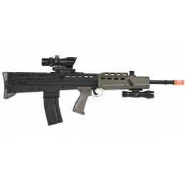 Deltaforce L85A2 Bullpup Tactical Spring Airsoft Rifle w/ Flashlight