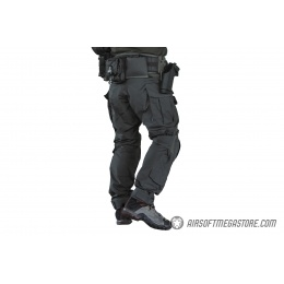 Emerson Gear Blue Label Combat BDU Tactical Pants w/ Knee Pads [Small] - RANGER GREEN