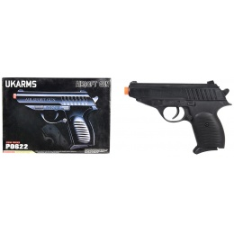 UKARMS P0622 Spring Airsoft Pistol - BLACK