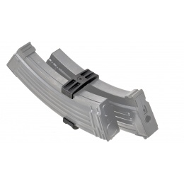 LCT Airsoft AK47 Double Magazine Clip - BLACK