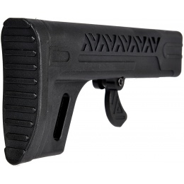 LCT Airsoft LCK12 AEG Rifle Stock - BLACK