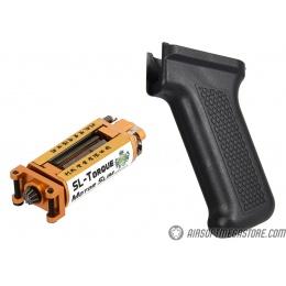 LCT Airsoft SL-Torque Motor w/ Slim Motor Pistol Grip - BLACK