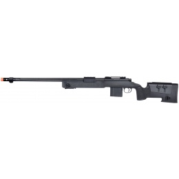 Wellfire MB4416 M40A3 Bolt Action Airsoft Sniper Rifle - BLACK