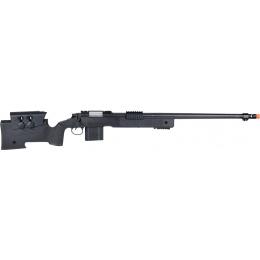 Wellfire MB4416 M40A3 Bolt Action Airsoft Sniper Rifle - BLACK