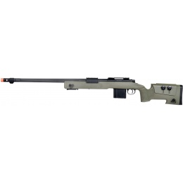 Wellfire MB4416 M40A3 Bolt Action Airsoft Sniper Rifle - OD GREEN