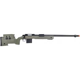 Wellfire MB4416 M40A3 Bolt Action Airsoft Sniper Rifle - OD GREEN