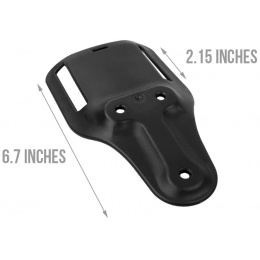 AMA Belt Holster Drop Adapter - BLACK