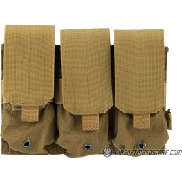 Flyye Industries 1000D Triple M4/M16 Magazine Pouch - COYOTE BROWN