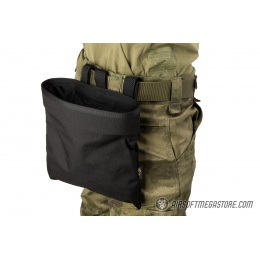 Flyye Industries MOLLE Roll-Up Drop Dump Pouch - BLACK