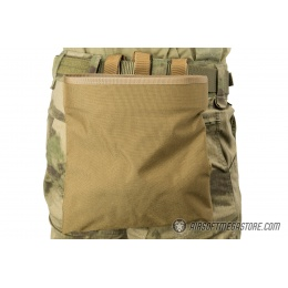 Flyye Industries MOLLE Roll-Up Drop Dump Pouch - COYOTE BROWN