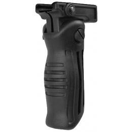 LCT Airsoft 3 Position Folding Grip - BLACK