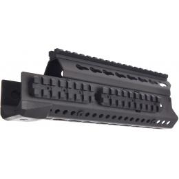 LCT Airsoft 9.5 Inch AK KeyMod Handguard Rail - BLACK