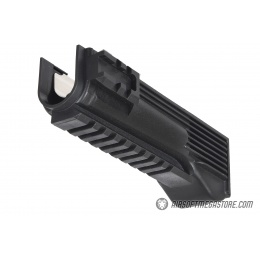 LCT Airsoft AK-9 AEG Tactical Lower Handguard - BLACK