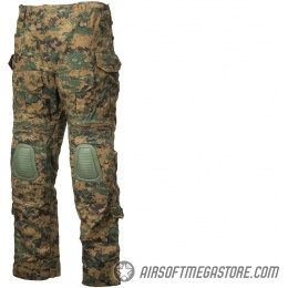 Lancer Tactical Airsoft Combat Pants [Large] - JUNGLE DIGITAL