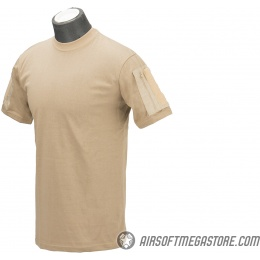 Lancer Tactical Airsoft Ripstop PC T-Shirt [XL] - COYOTE BROWN