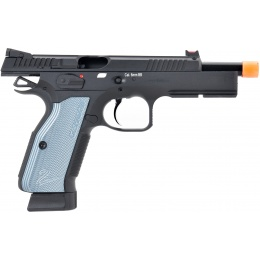 ASG CZ Shadow 2 CO2 Blowback Airsoft Pistol - BLACK / BLUE