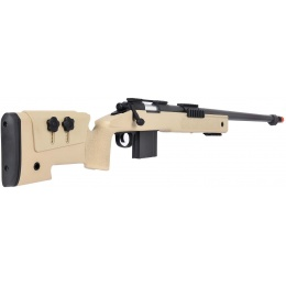 WellFire MB4416 M40A3 Bolt Action Airsoft Sniper Rifle - TAN