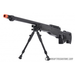 WellFire MB15 L96 Bolt Action Airsoft Sniper Rifle w/ Bipod - BLACK
