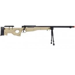 WellFire MB15 L96 Bolt Action Airsoft Sniper Rifle w/ Bipod - TAN