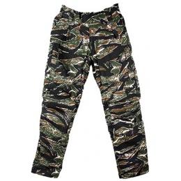 AMA Tactical Combat Elastic Waist Pants [XL] - TIGER STRIPE