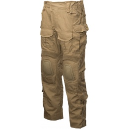 Lancer Tactical Airsoft BDU Combat Pants [SMALL] - TAN