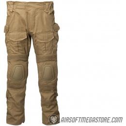 Lancer Tactical Airsoft BDU Combat Pants [SMALL] - TAN