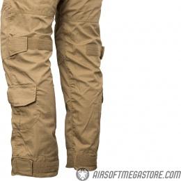 Lancer Tactical Airsoft BDU Combat Pants [MEDIUM] - TAN