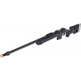 WellFire MB4417 M40A3 Bolt Action Airsoft Sniper Rifle - BLACK