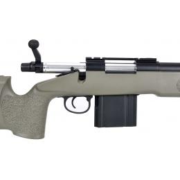 WellFire MB4417 M40A3 Bolt Action Airsoft Sniper Rifle - OD GREEN