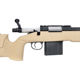 WellFire MB4417 M40A3 Bolt Action Airsoft Sniper Rifle - TAN
