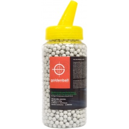 GoldenBall 0.25g MaxSlick Seamless Airsoft Tracer BBs - 2000rd Bottle