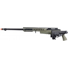 WellFire MB4418-1 Bolt Action Airsoft Sniper Rifle - OD GREEN