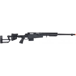 WellFire MB4418-2 Bolt Action Airsoft Sniper Rifle - BLACK
