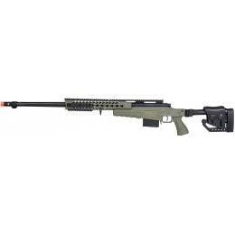 WellFire MB4418-2 Bolt Action Airsoft Sniper Rifle - OD GREEN