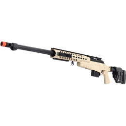 WellFire MB4418-2 Bolt Action Airsoft Sniper Rifle - TAN