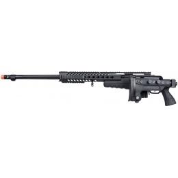 WellFire MB4418-3 Bolt Action Airsoft Sniper Rifle - BLACK