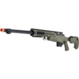 WellFire MB4418-3 Bolt Action Airsoft Sniper Rifle - OD GREEN